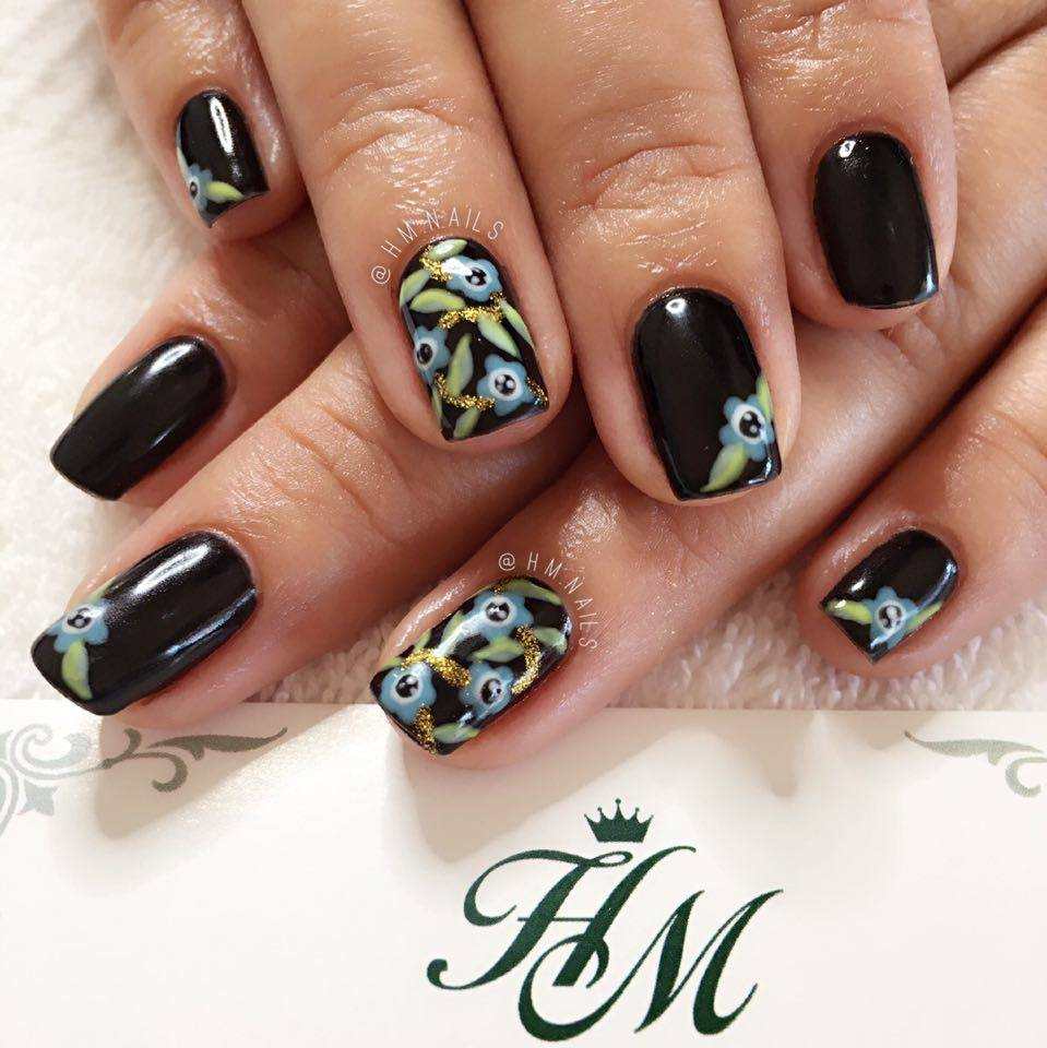 Forgetmenot Nail Art